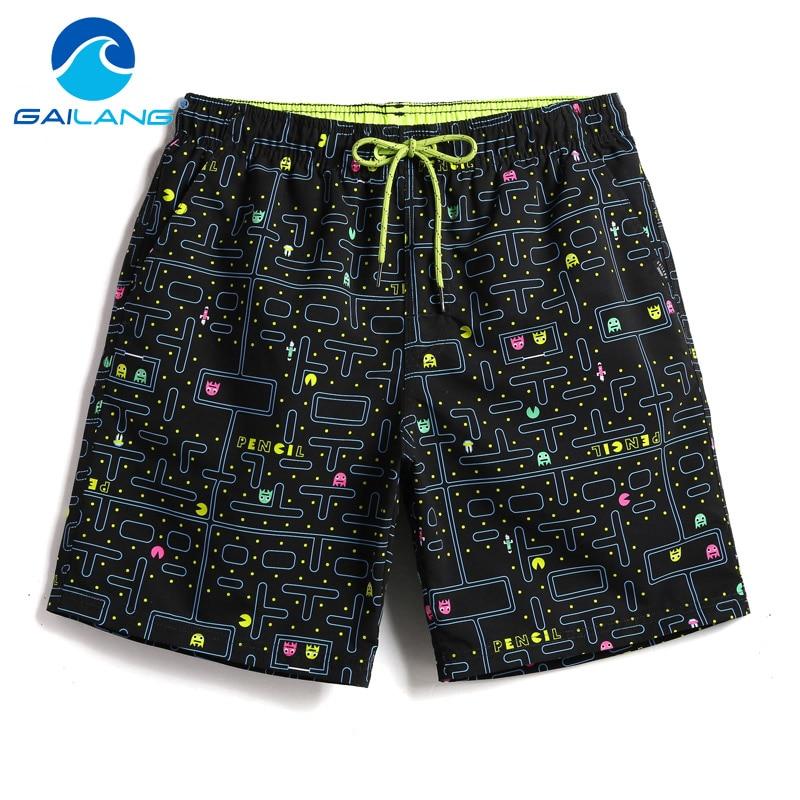 Gailang Brand Men Beach   Shorts     Board   Boxer Trunks   Shorts   Boardshorts Men's Fashion Swimwear Swimsuits Casual Active Bottoms New