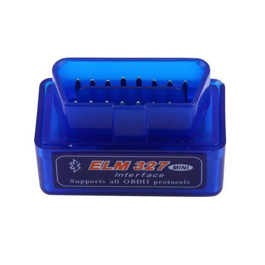 Yeni OBD V2.1 mini ELM327 OBD2 Bluetooth otomatik tarayıcı OBDII 2 araba ELM 327 test teşhis aracı Android Windows symbian