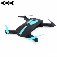 JY018 ELFIE WiFi FPV Drone Mini Foldable Selfie Drone RC Quadcopter with 0.3MP / 2MP Camera HD FPV VS H37 720P RC Helicopters
