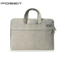 цена на  POSEIT Brand laptop briefcase for Apple macbook air 11 pro 13.3 inch notebook carry sleeve bag 12 15.4 inch