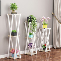 Multi layer Flower Stand Indoor Wrought Iron Balcony Flower Pot Rack Floor standing Living Room Storage Rack Home Furniture