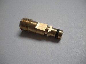 Image 4 - 15 Mt Auto waschschlauch fit Karcher K5 stecker 400Bar 5800PSI, M22 * 1,5*14mm, hochdruckreiniger schlauch