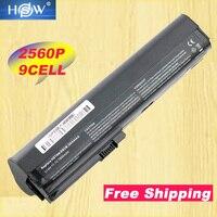 HSW 9cell 7800mah laptop battery for HP SX06XL,SX09 FOR HP EliteBook 2560p,2570p ,HSTNN UB2L,QK644AA bateria akku