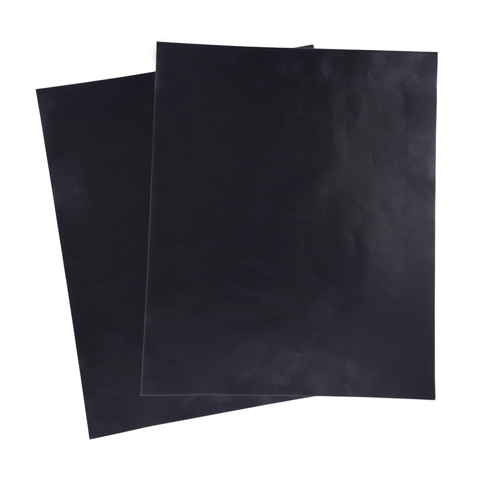 2pcs/lot High Quality Barbecue Mat Heat Resistance and Non-stick Telflon BBQ Mat Pad Microwave Oven Easy to Clean Size 33*40cm