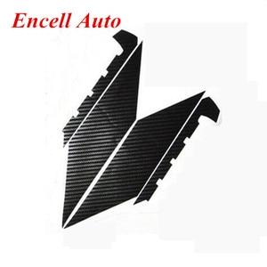 Image 2 - Autocollants de Grille avant, en Fiber de carbone, pour Ford Focus 3 MK3, offre spéciale, 2012, 2013, 2014, 2015