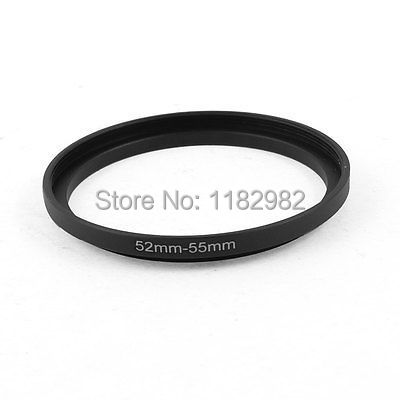 Lens Adapter ring 52mm-55mm 52mm to 55mm Step Up Ring Filter Adapter for Camera