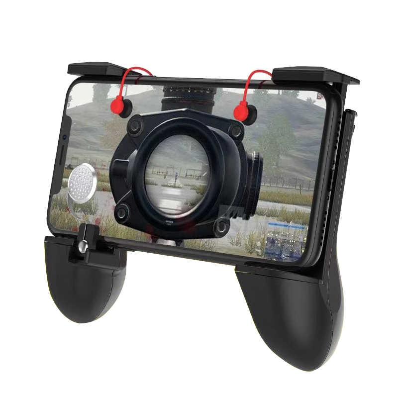 Для PUBG STG FPS игровой триггер мобильный телефон мобильный контроллер Кнопка огня геймпад L1R1 Aim Key джойстик для iphone Android