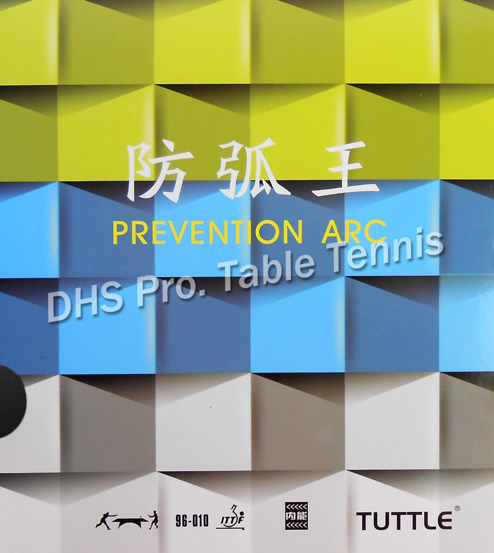 Tuttle King Of Anti-Spin ( Tuttle Prevention Arc )  Pips-In Table Tennis  Rubber With Sponge