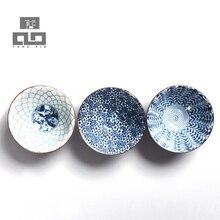 Drink tassen und untertassen blau und weiß keramik teetasse porzellan teetasse porzellan tasse tee, freeshipping