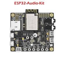 ESP32-Audio-Kit ESP32 аудио макетная плата Bluetooth модуль беспроводного доступа Wi-Fi двухъядерный 32-бит Процессор с ESP32-A1S 8 м серийный wi-fi FZ3404