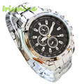 Irisshine i0312 men watches New Three Eyes Six Steel Needle Fashion Men's Fashion Casual Business Watch