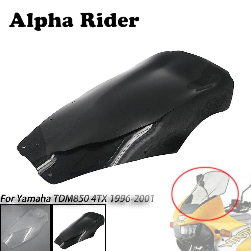 96-01 pour Yamaha TDM 850 4TX moto surélevée 20 CM plus grand pare-brise pare-brise ABS déflecteur de vent TDM850 1996-2001