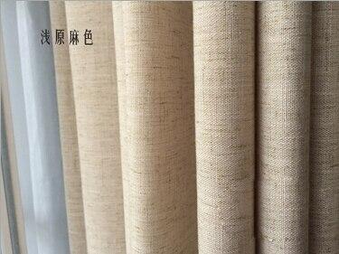 US $25.9 |Lino semplice colore solido tende moderne per soggiorno rideaux  pour le tende per camera da letto salone cortinas soggiorno in Lino  semplice ...