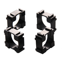 100pcs 18650 Battery Holder Bracket Cylindrical Battery Holder 18650 Li-ion Cell Holder Safety Anti vibration 18650 Plastic Case