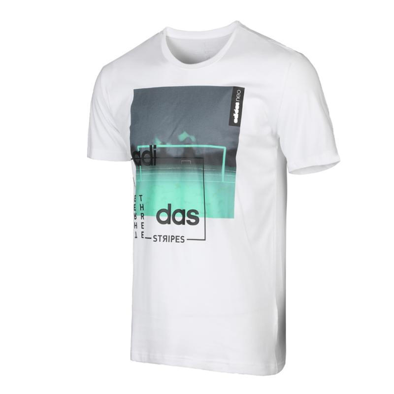 US $38.36 30% OFF|Original New Arrival Adidas Neo Label Men's T shirts short sleeve Sportswear in Skateboarding T Shirts from Sports & Entertainment
