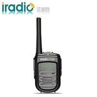 100% Original CE FCC iradio DP-168 Kleinste Walkie Talkie Digital kinder Zweiwegradio Mini walkie talkie ham radio PMR FRS