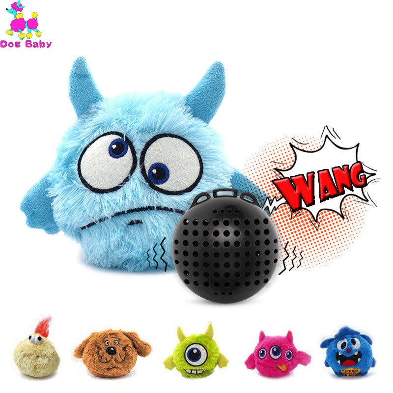 Ball Toys Puppy Automatic Electronic Shake Crazy Dog Toy Plush Giggle Dog Toys Exercise Entertainment Interactive Bird 23JunO8