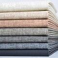100x138 см Синтетическая кожа льняной Patten PU кожа ткань DIY настенный тканевый фон диван для оформления дома швейный материал Однотонная искусст...