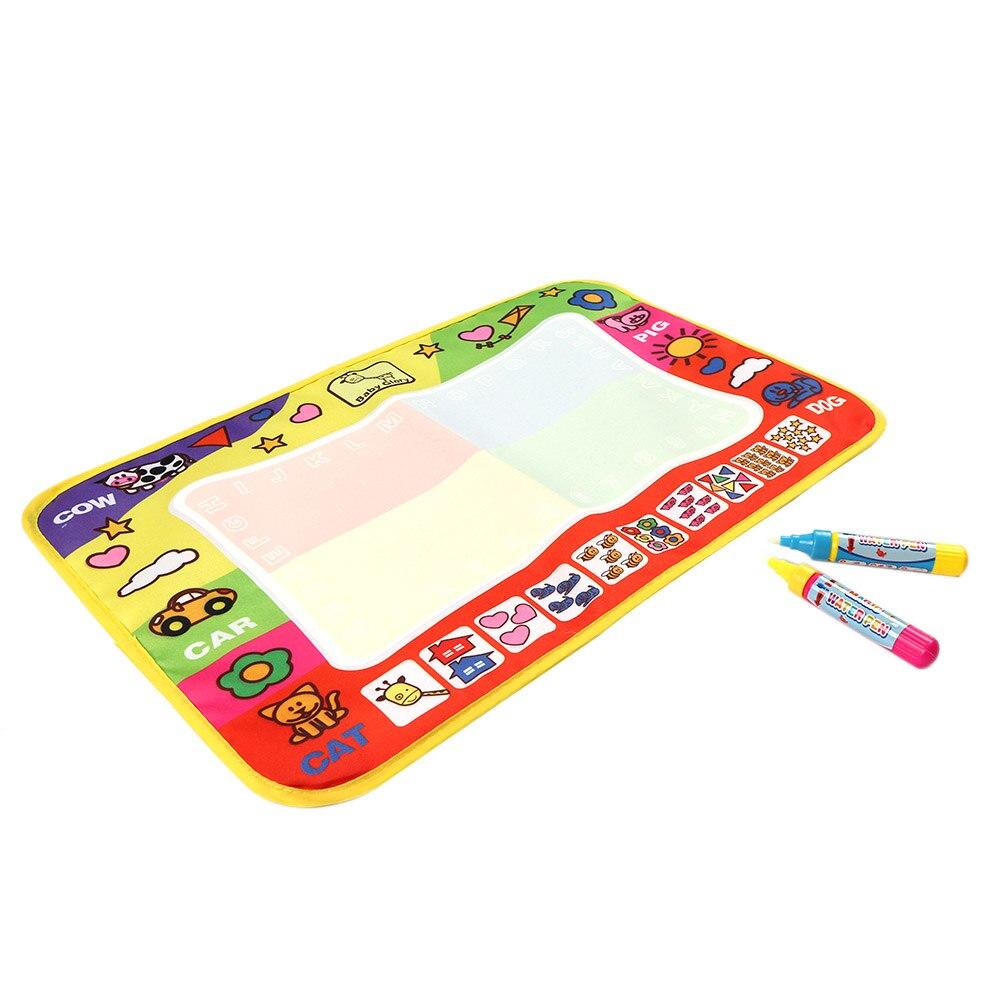 Детская безопасность нетоксичные Вода Рисование Коврики доска для рисования и записи Doodle Magic ручка детские развивающие Игрушечные лошадки ...