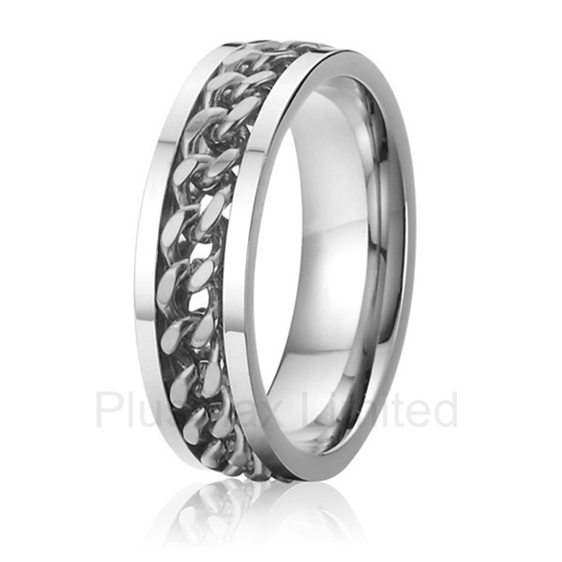 new arrival china supplier cool wife and husband gift wedding band gear ringschina - Gear Wedding Ring