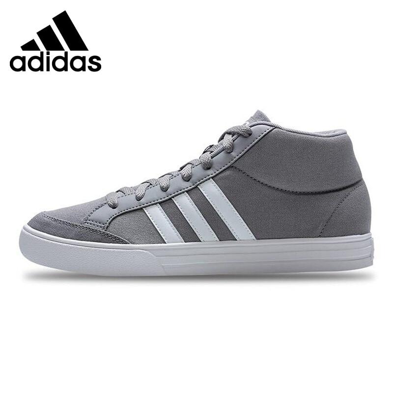 Original New Arrival 2017 Adidas VS SET MID Men's Basketball Shoes Sneakers original li ning men professional basketball shoes