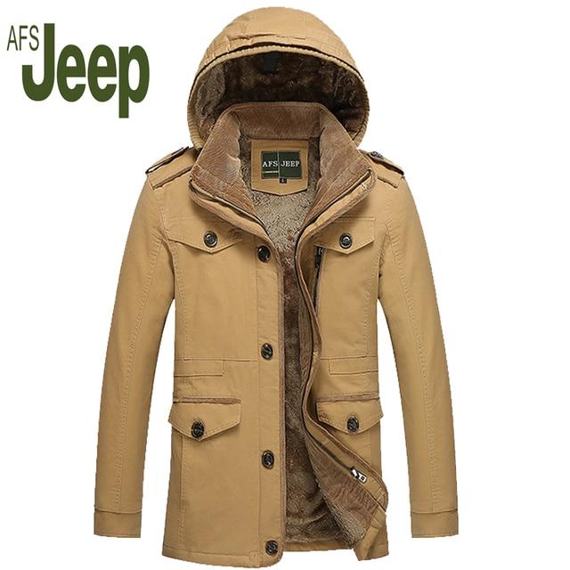 2016 Dos Homens de Roupas Estilo Casual Engrossar Trench Coat, nova Chegada Outono E Inverno Moda Homens Blusão Trench Coat quente 130