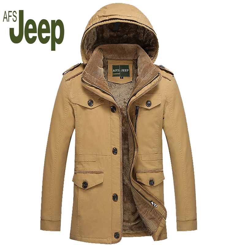 2017 Men's Clothing Casual Style Thicken Trench Coat, New Arrival Winter And Autumn Fashion Windbreaker Men warm Trench Coat 130