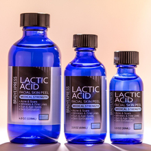 NEW LACTIC Acid Skin Peel - For: Acne, Wrinkles, Melasma, Age Spots 25%,40%,50%,90% FREE SHIPPING