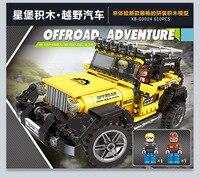 XINGBAO 03024 Car Series Super Truck Model INGlys Technic Building Blocks Educational Toys MOC Bricks For Children Gifts