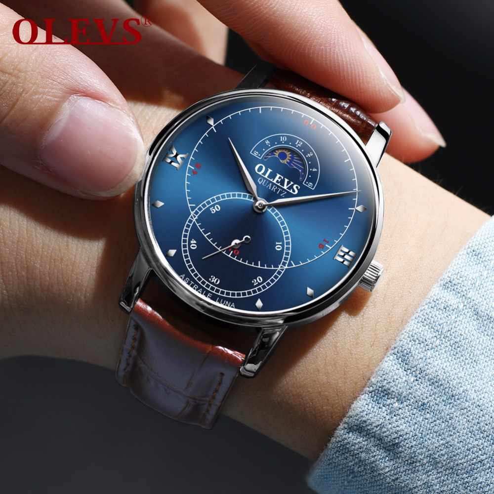 Mens Watches Top Brand Luxury OLEVS High Quality Japan Quartz Wristwatch  mens sport man watch men 2b4f39439eb4