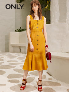 ONLY 2019 Spring Summer Slim Fit Slip Dress 119107636