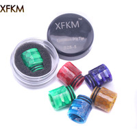 XFKM Snake 810 Drip Tip Snake Epoxy Resin for TFV8/TFV8 Big Baby/TFV12/ Tank RBA/RDA Mouthpiece For Vape 528-S Electronic Cigarette Accessories