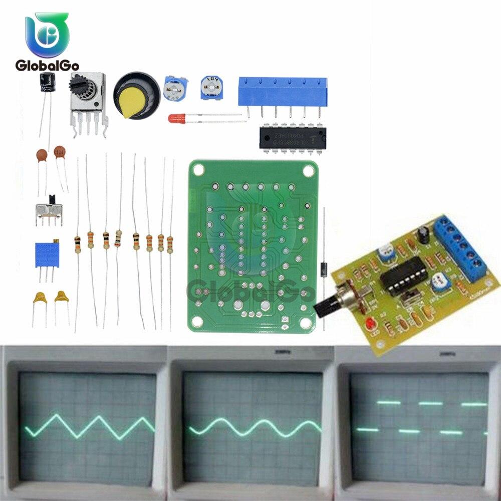 Модуль генератора сигналов ICL8038, 50-5 кГц, 12 В постоянного тока, с монолитной функцией, синусоидальный квадратный треугольник, Комплект «сдела...
