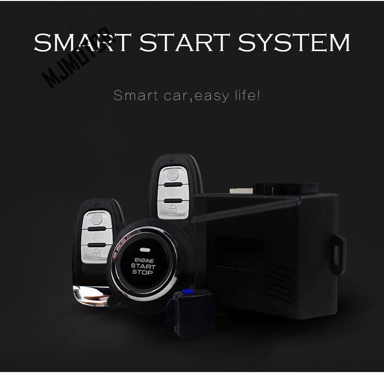 Remote start Kit Keyless Start For Chinese SAIC ROEWE 550 MG Auto car motor part