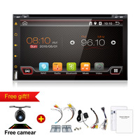 New Store Universal 2 Din Android 4 4 Autoradio Car DVD Player GPS Wifi Bluetooth Dual