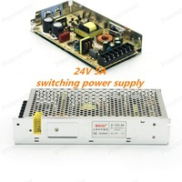 Top Quality 24V 5A 120W Switching Power Supply Driver For LED Strip AC 100 240V Input
