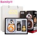 [Bainily] New Star Wars The Force Despierta BB8 BB-8 Eyecare Luz de La Noche de Carga USB Robot Starwars Modelo Figura de Acción de juguete de Regalo