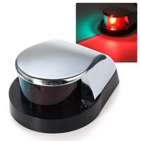 1PC Stainless Steel LED Bow Navigation Light Red Green Sailing Signal Light For Marine Boat Yacht