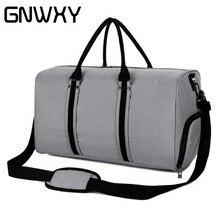 Сумка для переноски для мужчин GNWXY Большая сумка для переноски багажа для большой емкости с USB-зарядкой и независимой обувью