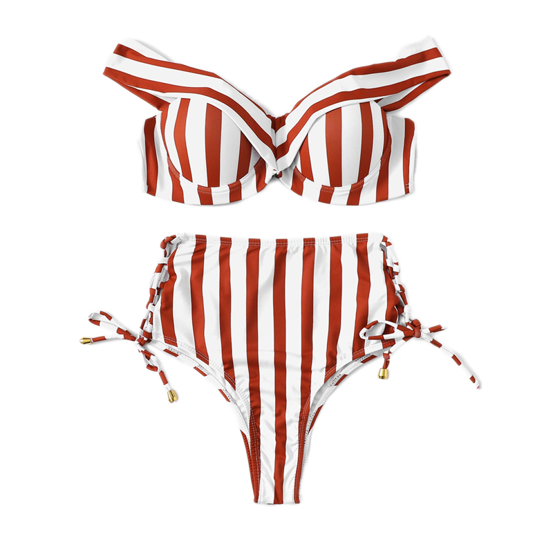 Striped Swimwear 10