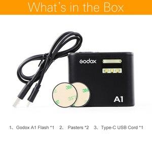 Image 2 - Godox A1 スマートフォンフラッシュシステム 2.4 グラムワイヤレスフラッシュフラッシュトリガーコンスタント Led ライトと iphone 6s 7 プラス
