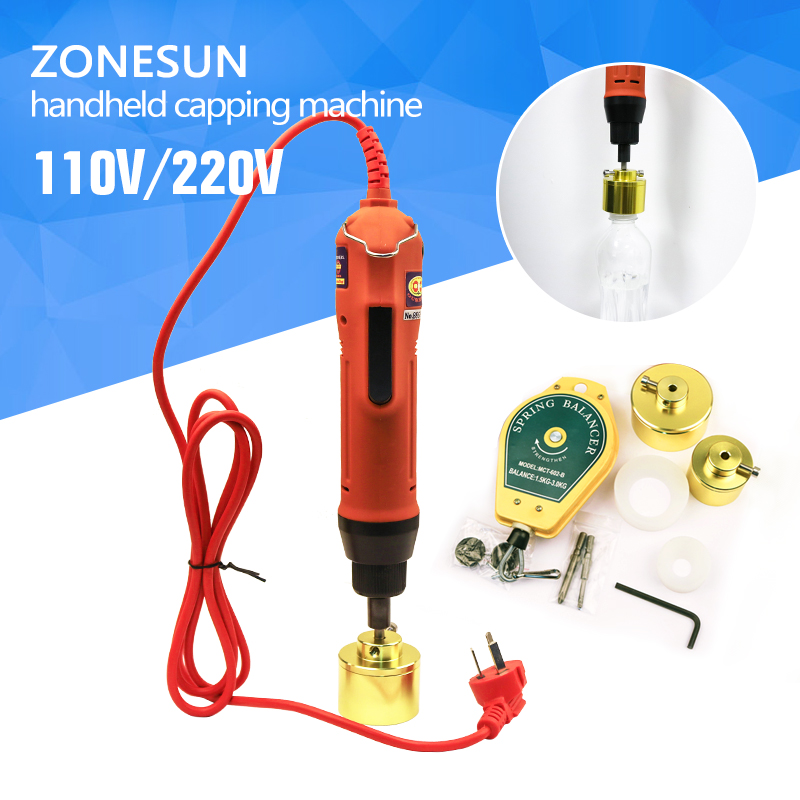 Manual electric Capping Machine for screw cap, screw capper plastic bottle capping machine capper(10-50MM) free shipping new manual electric capping machine screw capper plastic bottle capping machine for special cap