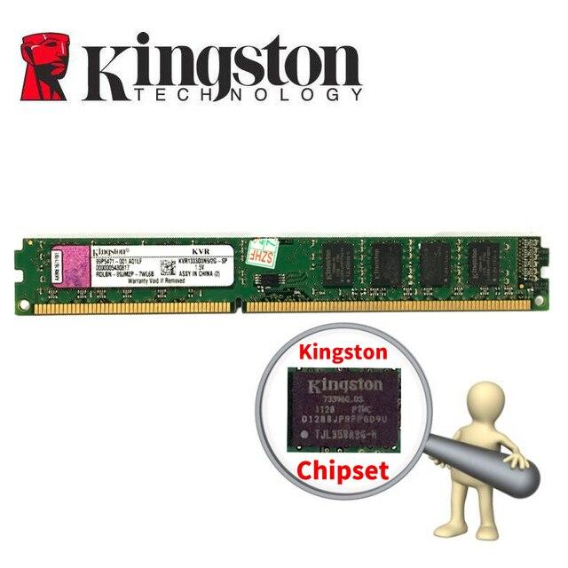 Kingston PC Desktop Do Computador do Módulo de Memória RAM Memoria DDR3 2 gb 4 gb PC3 1333 1600 mhz 1333 mhz 1600 mhz 10600g RAM de 12800g 4 2