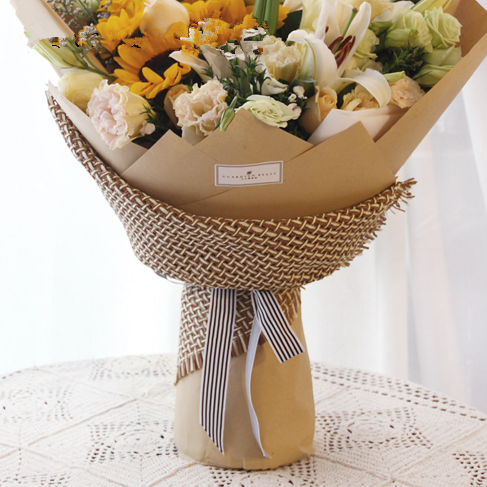 72ebce75b4f Single Color Craft Paper Flowers Packaging Korean Flowers Wrapping ...