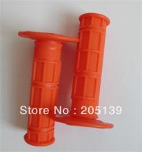 motorbike motorcycle parts orange Grip for honda yamaha kawasaki moto dirt pit bike xr50 crf50