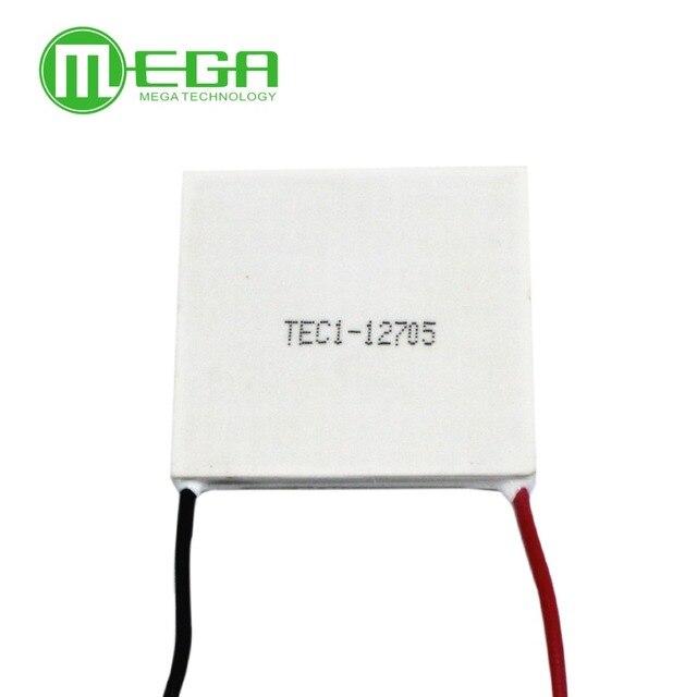 10 шт./лот TEC1 12705, Термоэлектрический охладитель Пельтье 12705, 12 В, 5 А, модуль элементов Пельтье TEC12705