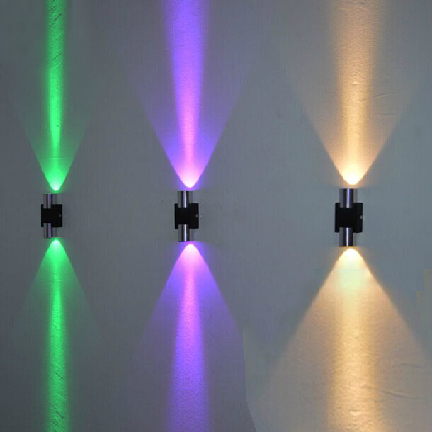 3pcs modern design led background wall light lustres home decoration