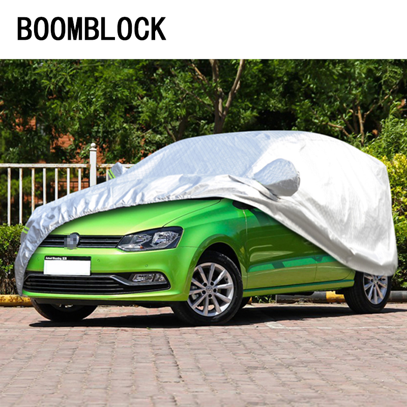 BOOMBLOCK Hatchback L Dustproof Car Covers For Chevrolet Aveo Sail Volkswagen Polo VW Golf 4 7 5 6 Skoda Fabia Opel Astra H J G|car covers|cover car|car covers l - title=