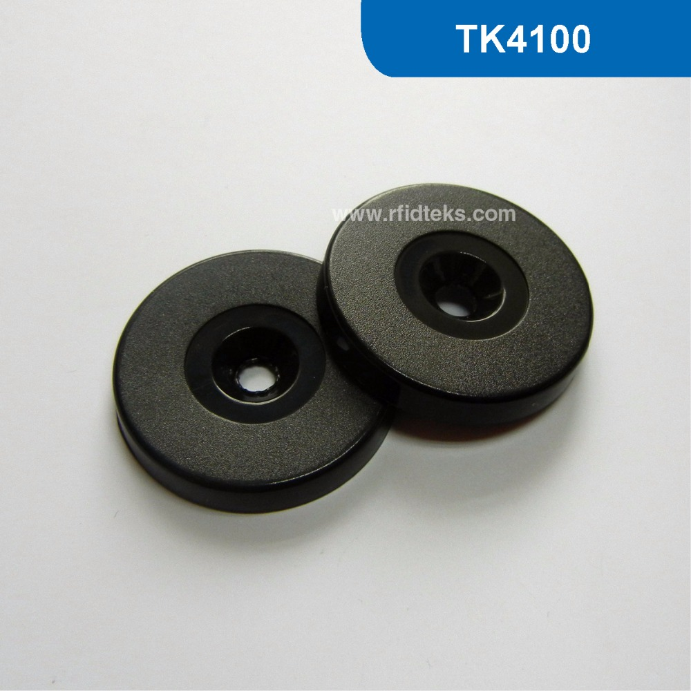 RT30 Dia 30mm ABS RFID Token Tag, RFID Proximity ID TAG for Patrol Guard System 125KHz with TK4100/EM4100 Chip free shipping waterproof contactless proximity tk4100 chip 125khz abs passive rfid waste bin worm tag for waste management