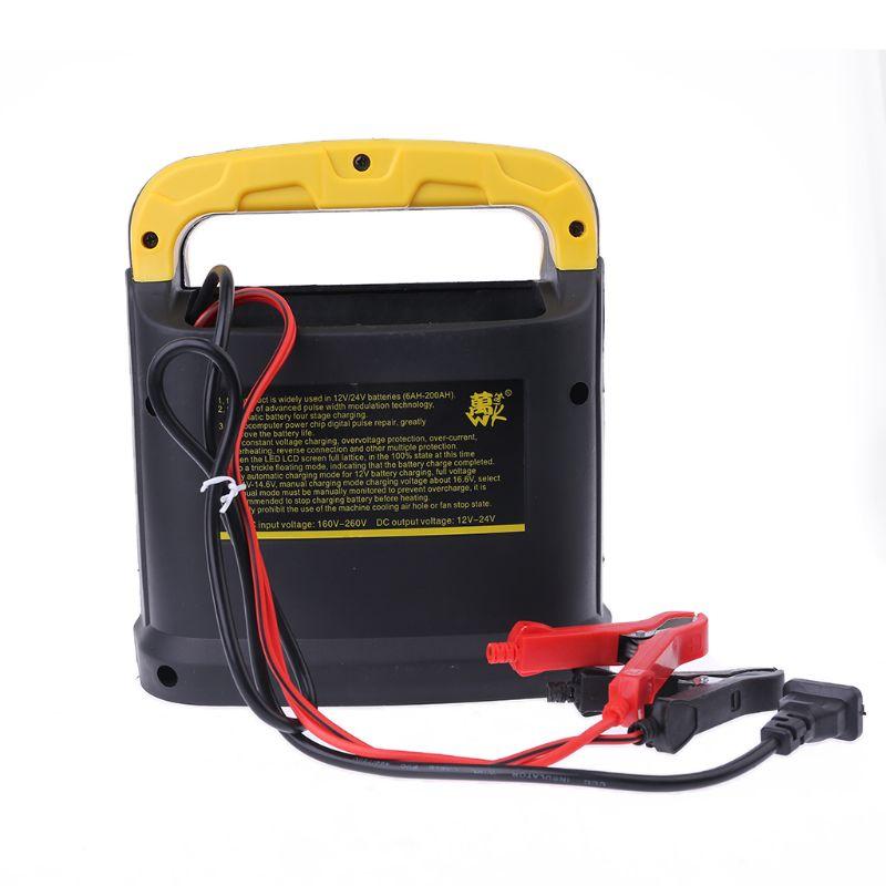 2019 nouveau Portable 12 v-24 V Intelligent haute puissance chargeur de batterie voiture saut démarreur